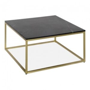 Large Rectangular Coffee Table Black Marble Top Brushed Brass Welcome To Tralula Uk Home Of Furniture Gifts And Accessories
